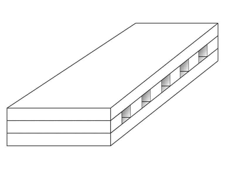 Image of a schematic illustration of a individual pit module by Apple Athletics